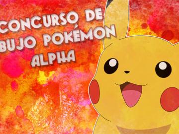 1 concurso de dibujo Pokémon Alpha