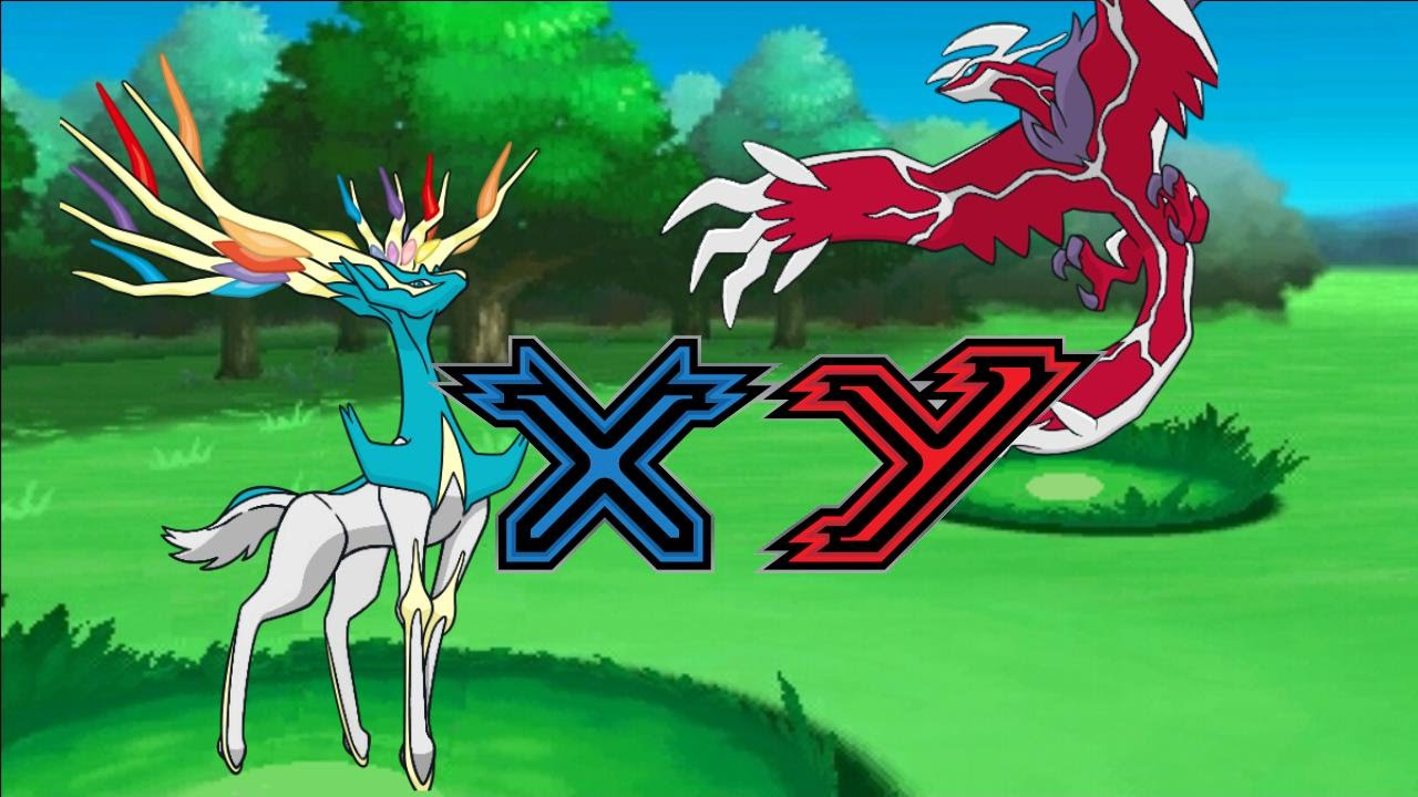 Xerneas e Yveltal Shiny de evento