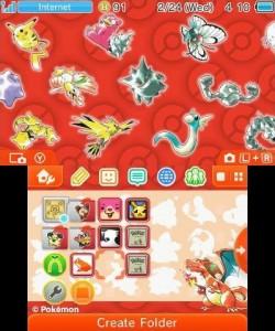 Tema New 3DS Pokémon 20 Rojo