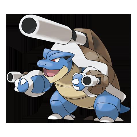 Mega-Blastoise Pokédex
