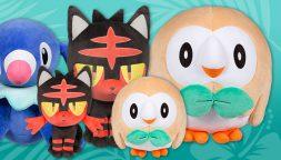 Nuevos artículos relacionados con Alola en el Pokémon Center