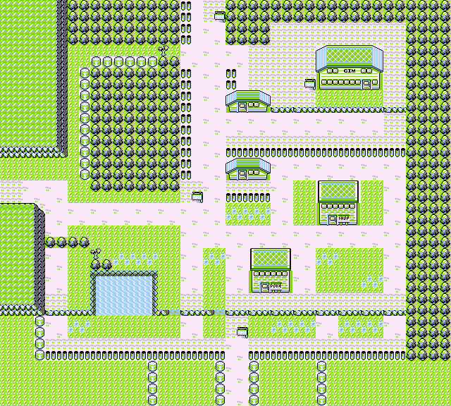 Ciudad Verde Game Boy