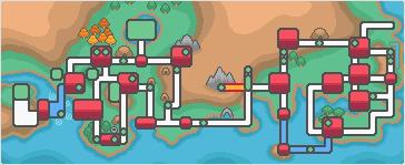 Johto Kanto Mapa