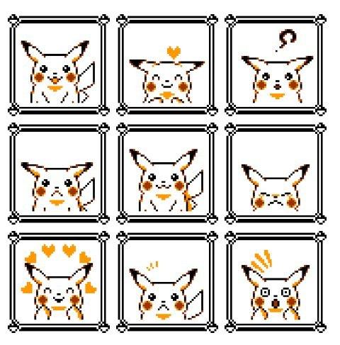 Pikachu Pokémon amarillo 2