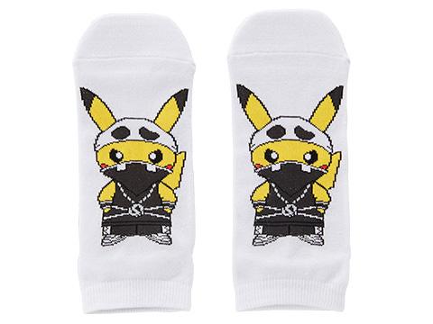 pikachu-skull-socks
