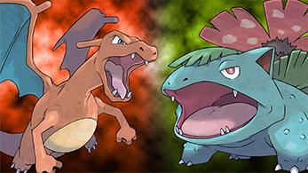Pokémon Verde hoja rojo fuego