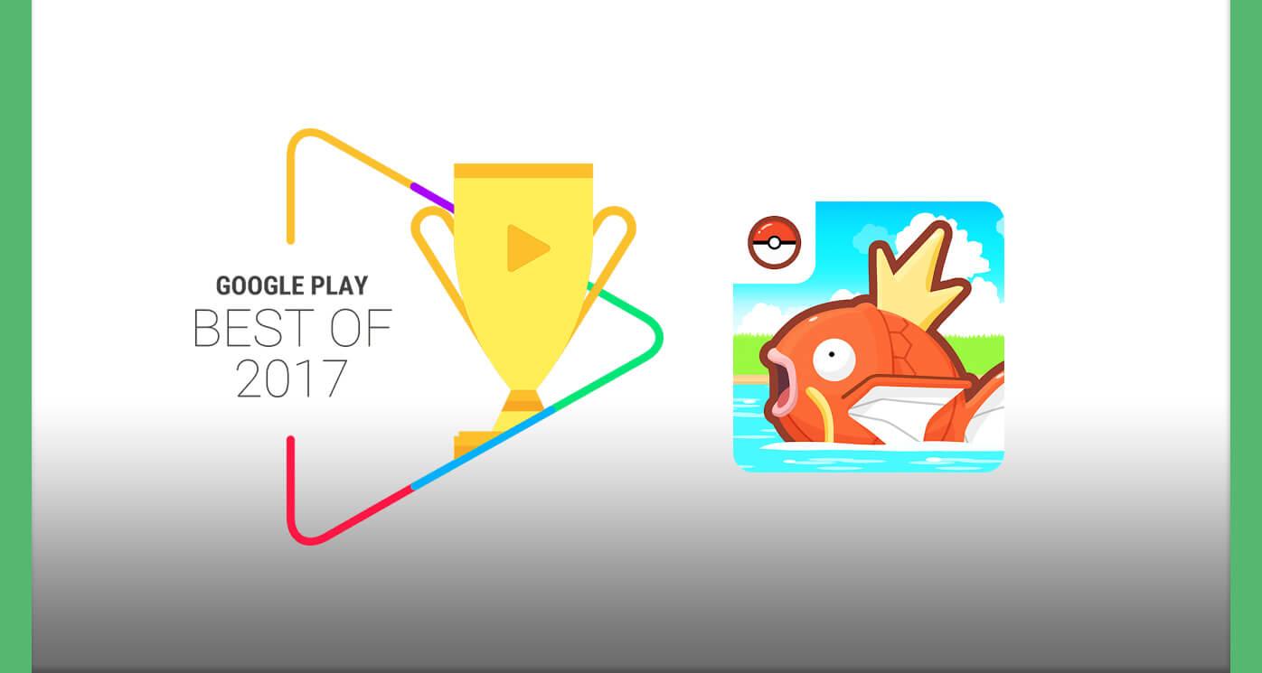 Magikarp Jump en los premios Google Play