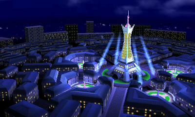 Torre Prisma Ciudad Luminalia